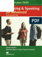 Improve Your Skills - Listening and Speaking for Advanced