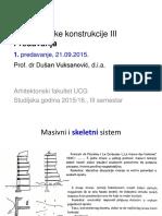 AK III 1.Predavanje 15-16