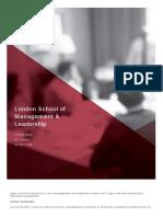 London School of Management %26 Leadership