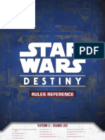 Star Wars Destiny Rules Reference