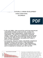 Role of It in Rural & Urban Development