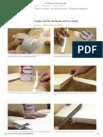 Fita de Borda em PVC da Formica®