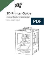 Come3D Printer Guide