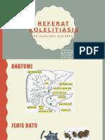 Refrat Kolelitiasis -Ega Gumilang - Dr.aditomo Sp.b(k)Bd