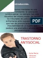 Trastorno Antisocial