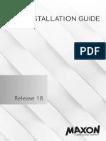 Installation Guide R18 En