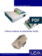 Guide Installation Filtre ADSL
