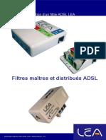 Guide Installation Filtre ADSL