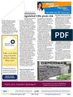 Pharmacy Daily for Mon 06 Feb 2017 - Unregulated CMs pose risk, MDR ramps up services, NSAIDs back pain fail, Weekly Comment and much more