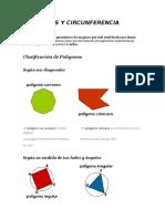 Poligonos y circunferencia