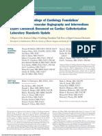 Cateterismo Cardiaco Consenso Americano 2012