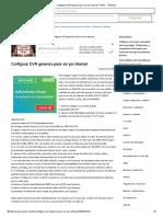 Configurar DVR Generico Para Ver Por Internet - DVRs - YoReparo