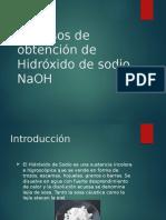 Procesos de Obtencion de Hidroxido de Sodio NaOH
