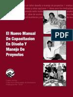 El Nuevo Manual  de Capacitacion en Diseño y Manejo de Proyectos