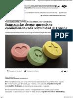 Estas Son Las Drogas Que Más Se Consumen en Cada Comunidad de España