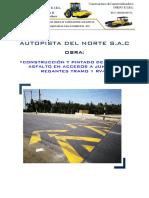 Informe Construcción de Gibas Para Junta de Regantes