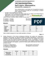 Solucionario Semana 2 Manual Pre San Marcos 2015 i Pre San Marcos PDF
