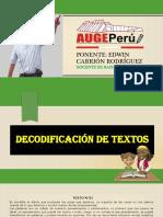 Decodificación de Textos