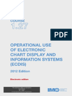 Operational Use of ECDIS 2012