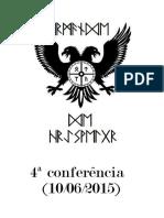 4ª Conferência Da Irmandade 10-06