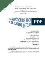 Gestion (u.05) La g.t y El Capital Intelectual en La Organizciones