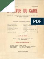 La revue du Caire N°7