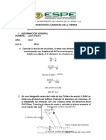 Ejercicios - Introducción a ciencias de la TierraE