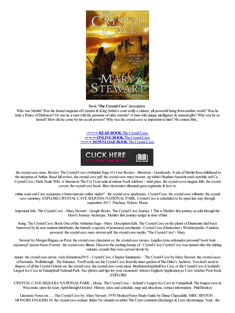 a literary analysis of mary stewart in the crystal cave