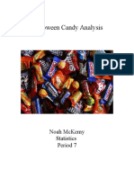 halloween candy analysis - stats