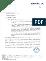 Updates on Scheme of Amalgamation [Corp. Action]