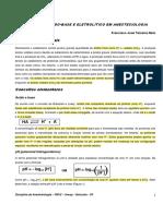 Equilibrio Acido-base - Francisco J T Neto
