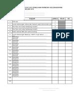 Formulir Penilaian Mandiri Kelengkapan Str Ulang