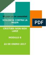 NohLanz CristianIvon M8S4 Proyectointegrador