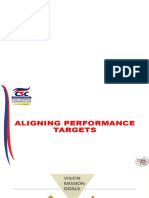 Aligning of Performance Targets