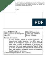 La Ficha Catalográfica y Bibliográfica