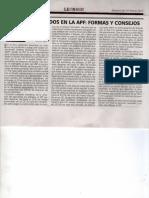 Retiro de Fondos en La Afp - Autor José María Pacori Cari