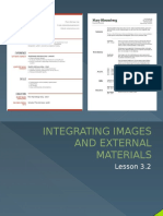 Integrating Images