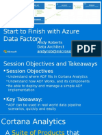 Start to Finish With Azure Data Factory