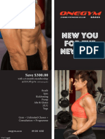 New You for the New Year Membership