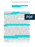 El campesino andino y la globalización a fines de siglo (una mirada sobre el caso ecuatoriano) Luciano Martínez