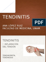 Tendinitis Ppt