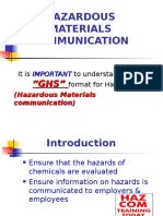 Global Harmonization and Safety Data Sheets Info 2015