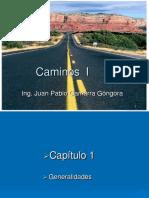 Cap1 Introducción Caminos 1 e