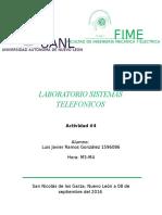 Lab Sistemas Telefonicos ACT4