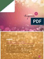 Unitech Exquisite Brochure