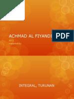 Achmad Al Fiyandi
