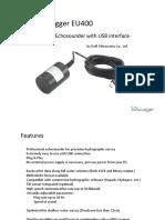 Echologger EU-400 461-2824-8405