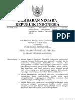 UU Nomor 7 Tahun 2012 (UU Nomor 7 Tahun 2012)