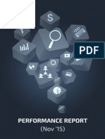 Multi Channel Performance Report - ReportGarden