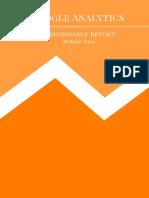 Google Analytics Sample Report